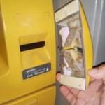 ATM skimmer removed