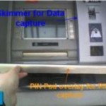 Image courtesy ENSA: Bogus PIN pad overlay + ATM card skimmer