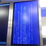 Another airport BSoD submitted by a reader.