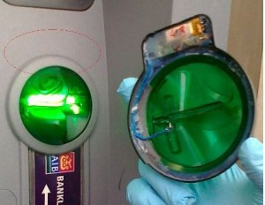 greenskim5 300x232 Be careful of todays ATMs and Card Readers