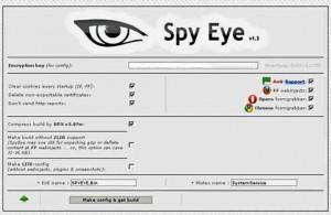 A SpyEye version from 2011.