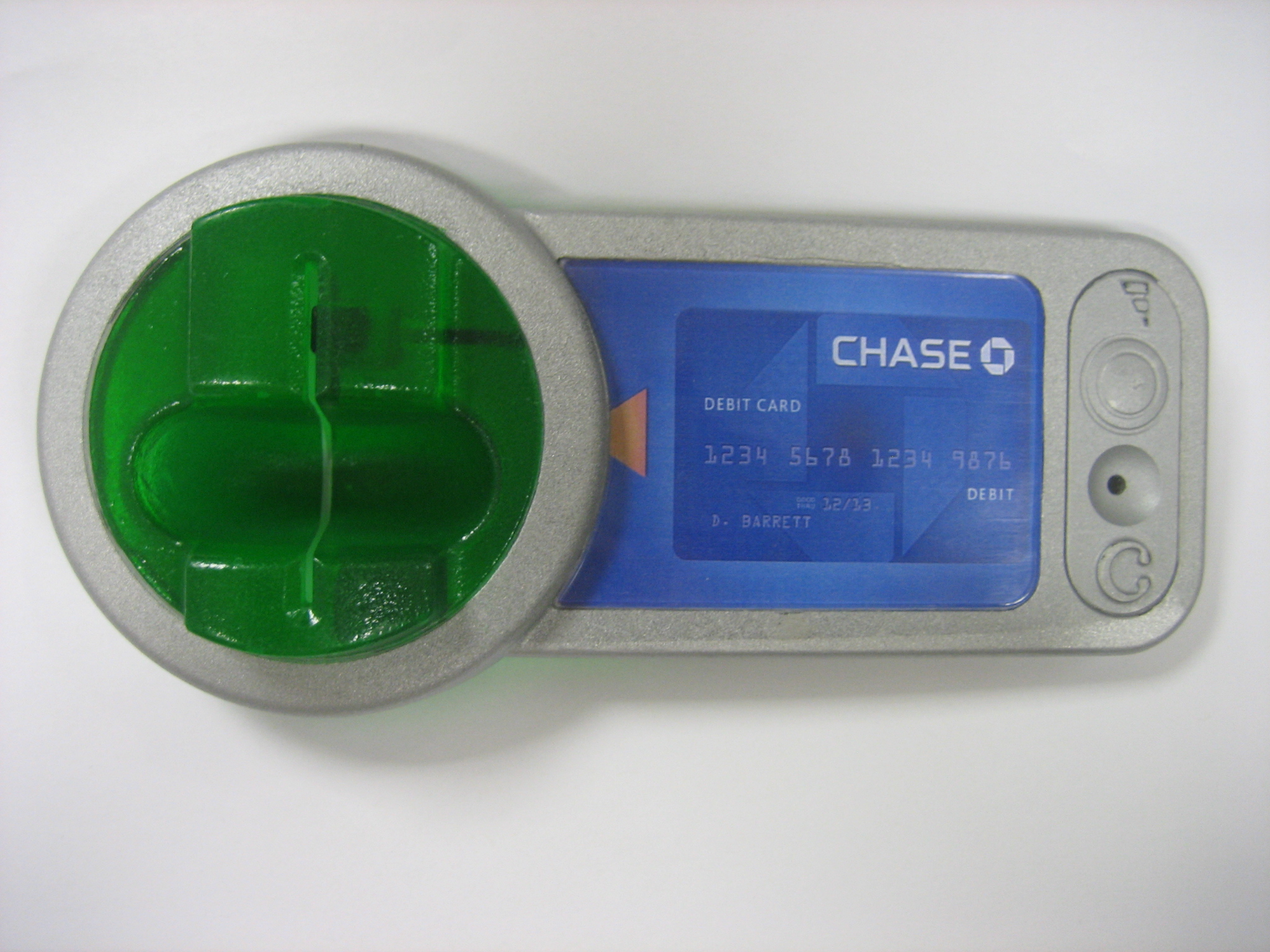 Pro Grade (3D Printer-Made?) ATM Skimmer — Krebs on Security