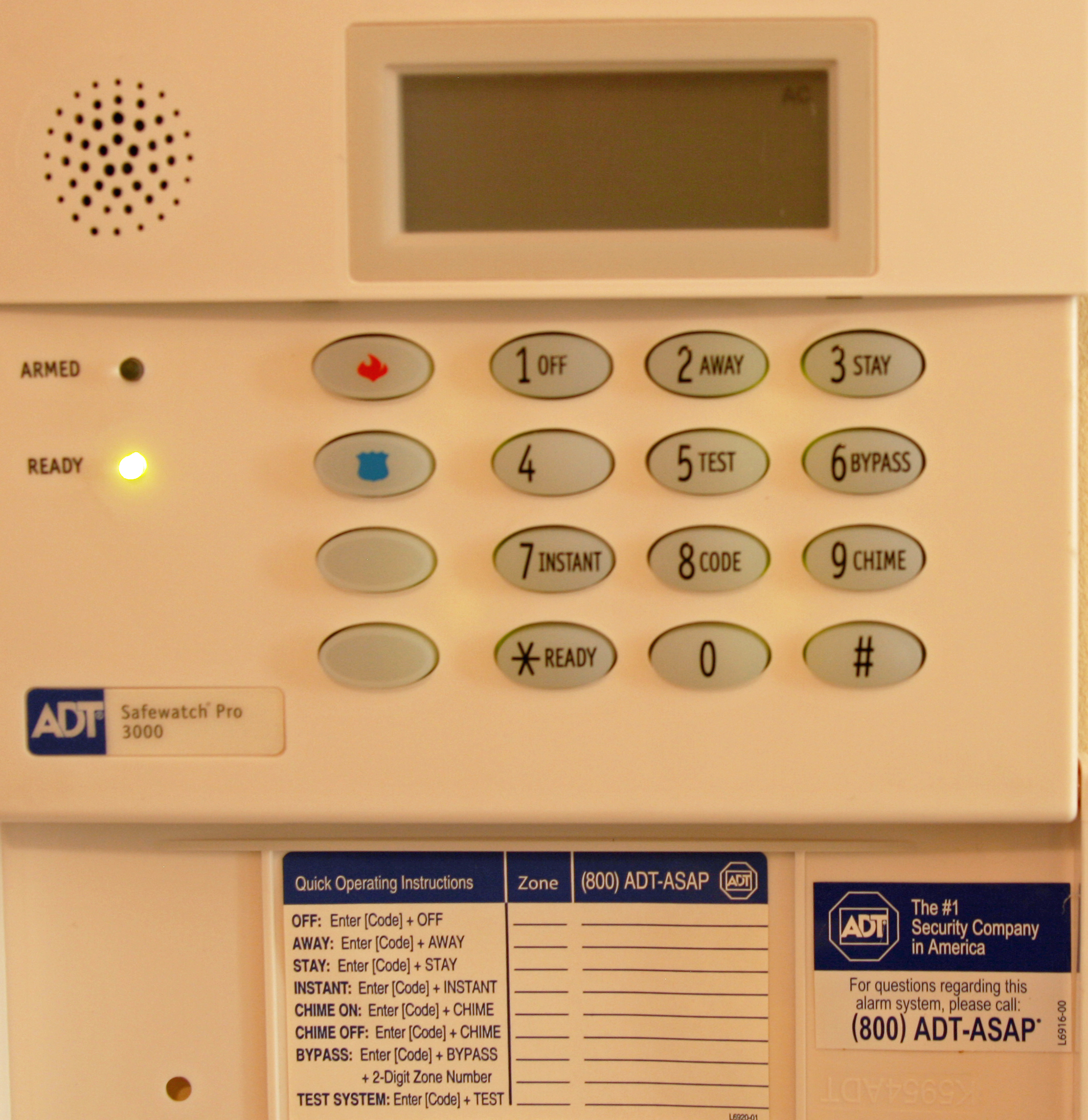 Does your alarm have a default duress code krebs on security safewatch pro3000 sciox Images