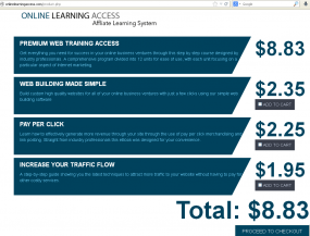 onlinelearningaccess.com, one of the fraudulent affiliate marketing schemes that powers these bogus micropayments.