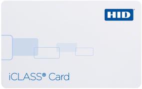 HID iClass proximity card.
