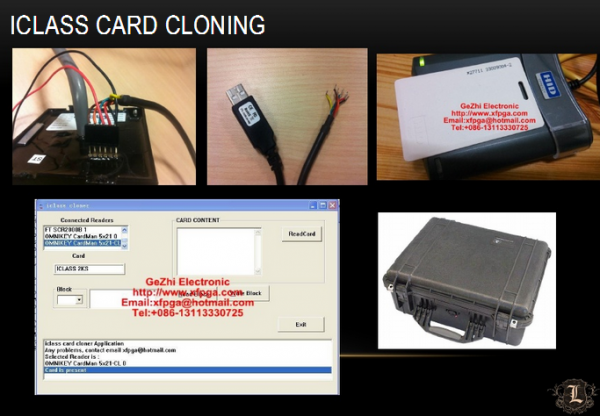 Card cloning gear fits in a briefcase. Image: Lares Consulting.