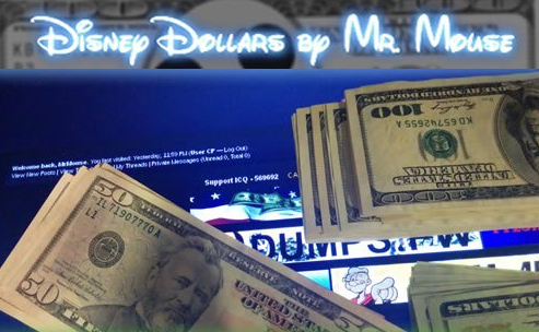MrMouse's ads for counterfeit $20s, $50s and $100s now blanket many crime forums.