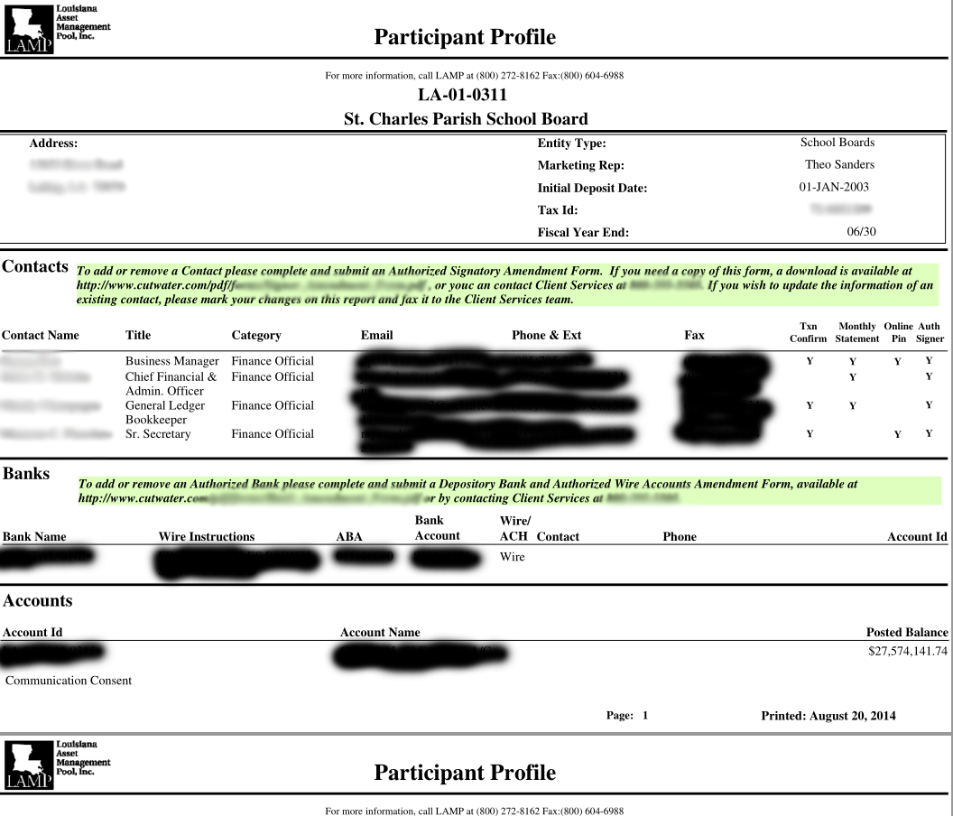how to get a redacted bank statement