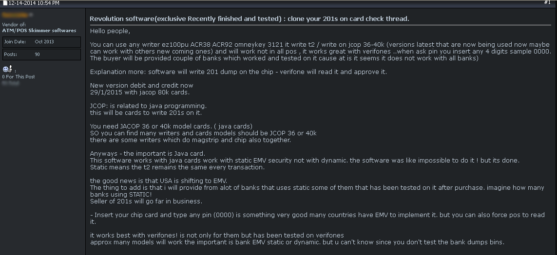Revolution' Crimeware & EMV Replay Attacks — Krebs on Security