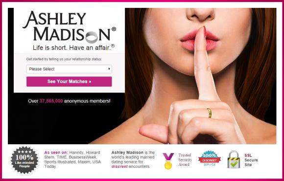Online Cheating Site AshleyMadison Hacked