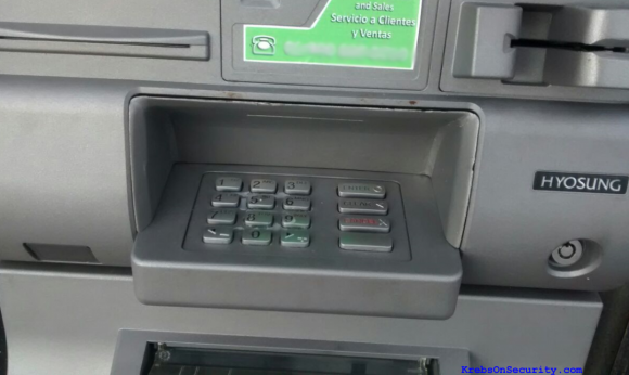 Spike in ATM Skimming in Mexico?