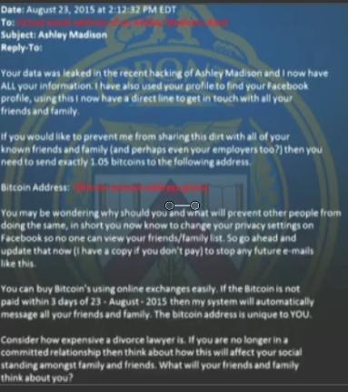 ashley madison messages