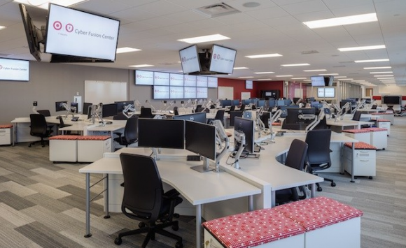"Target's ""Cyber Fusion Center."" Image: Target.com"
