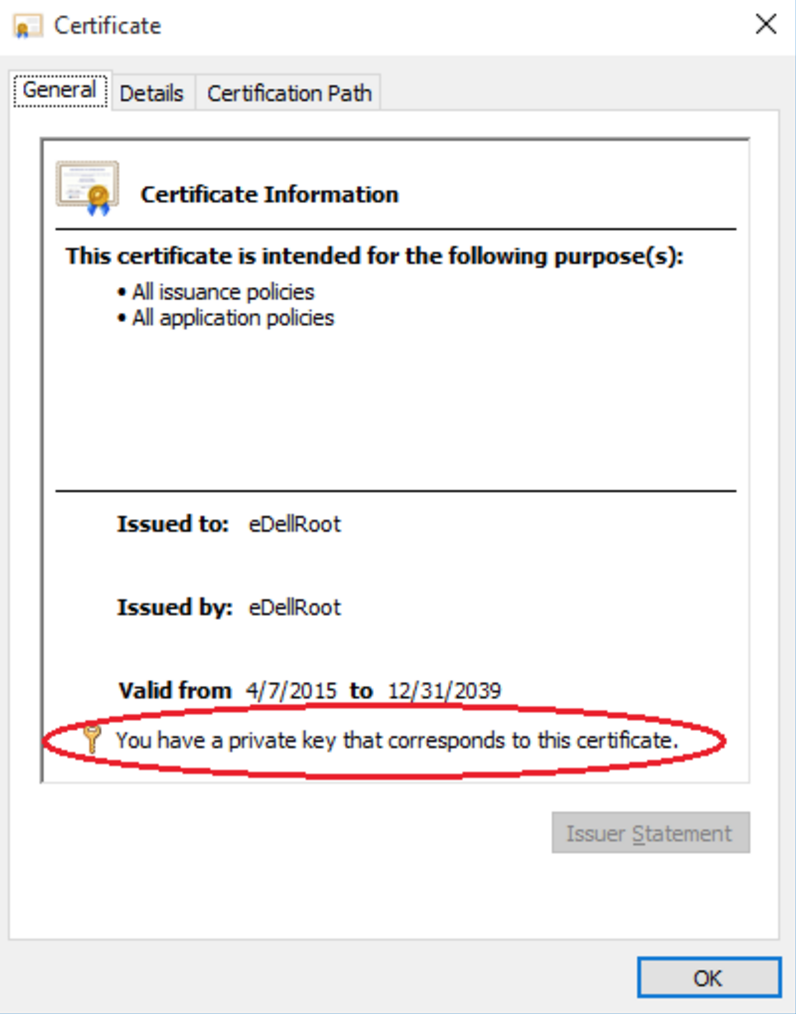 Security Bug In Dell Pcs Shipped Since 815 Krebs On Security