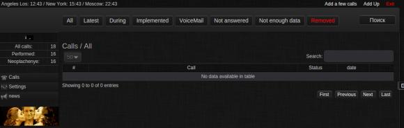 Criminal call service CallMeBaby.