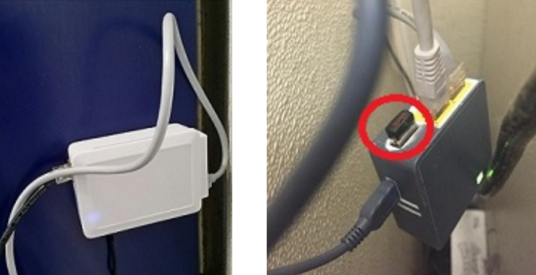 A closer look at the two network cable card skimming devices that were attached to the stand-alone ATM pictured at the top of this story.