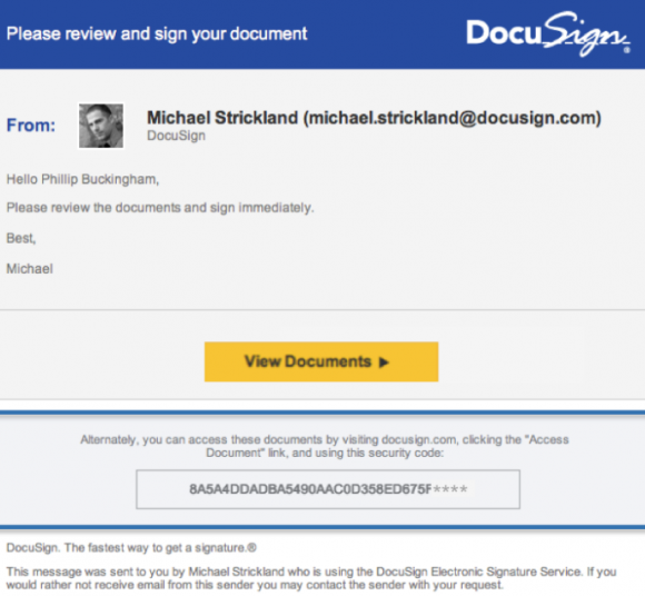 Digital signature service DocuSign hacked and email addresses stolen