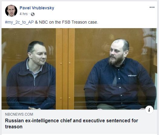 Former Russian Cybersecurity Chief Sentenced to 22 Years in Prison 21