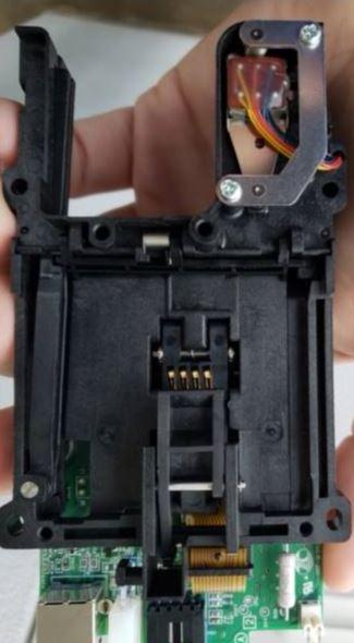 Insert Skimmer + Camera Cover PIN Stealer 3